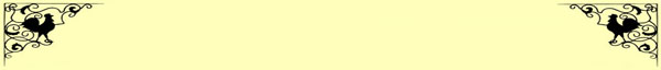 Simple yellow background wit rooster corners