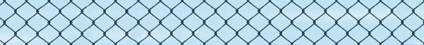 chain link fence against blue sky