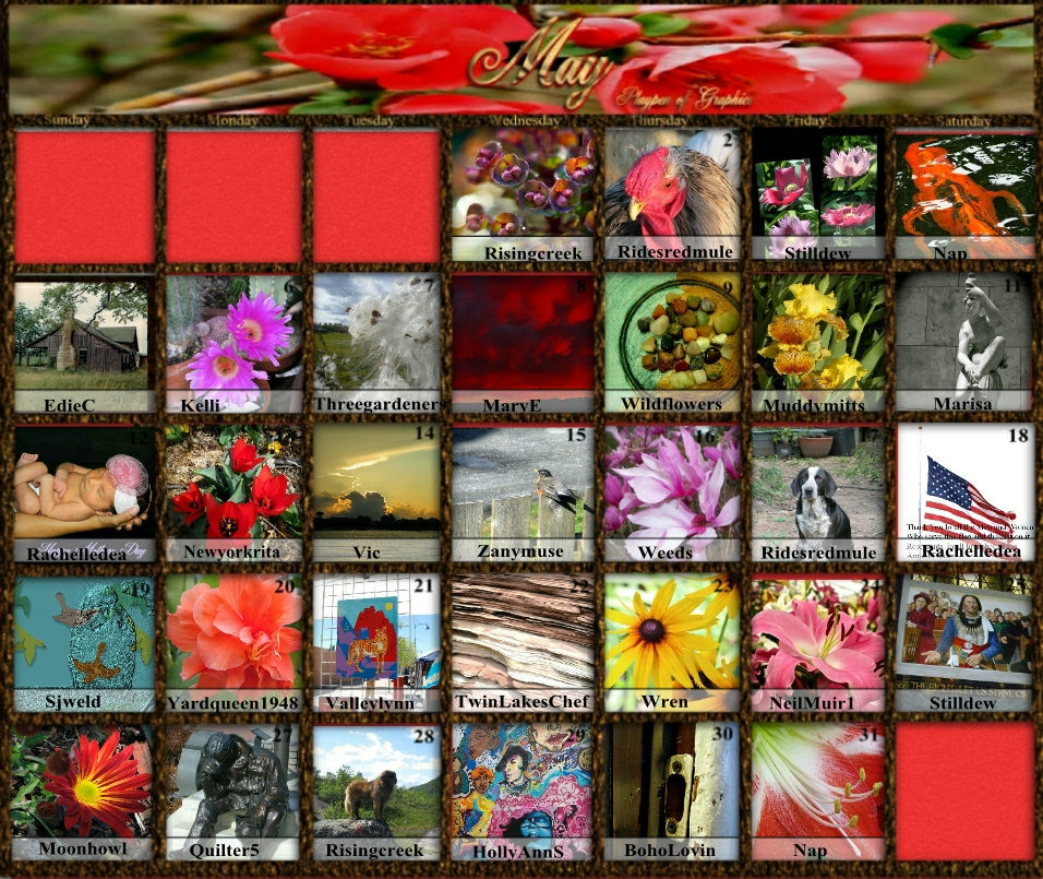 may 2013 puzzle calendar