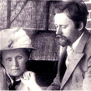 Young Karl Foerster with sister