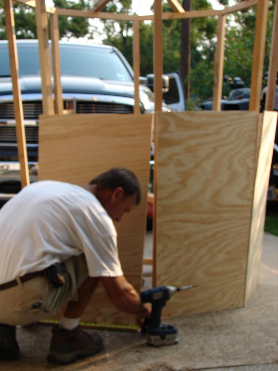 Octagon home plans joy studio design gallery best design for Octagon deer stand plans