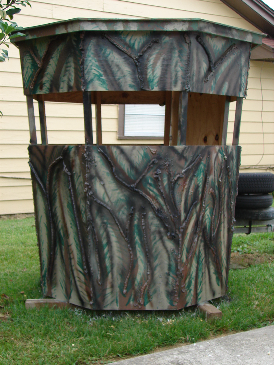 Hunting And Fishing Cubit Building A Blind That Blends