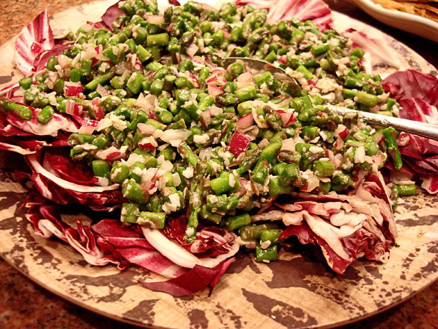 ... Kat cubit: La Cucina di Kat: Asparagus, Pecorino and Red Onion Salad