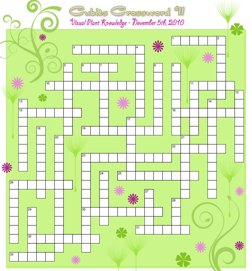 Landscaping Shrubs Crossword : Container gardening with katg cubit crossword plant
