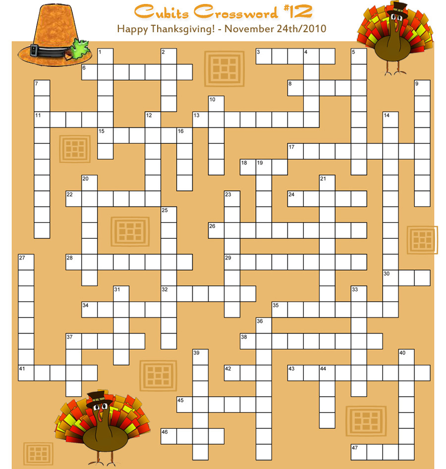 ... Online Thanksgiving Crossword Puzzle Thanksgiving Word Search Puzzle