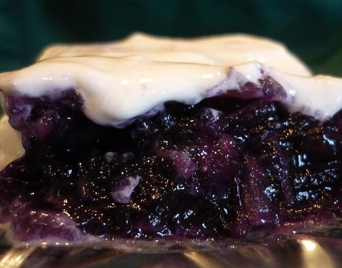Image result for Blueberry pie filling congealed salad